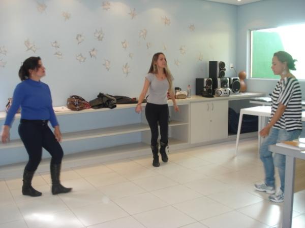 Atividade de dança