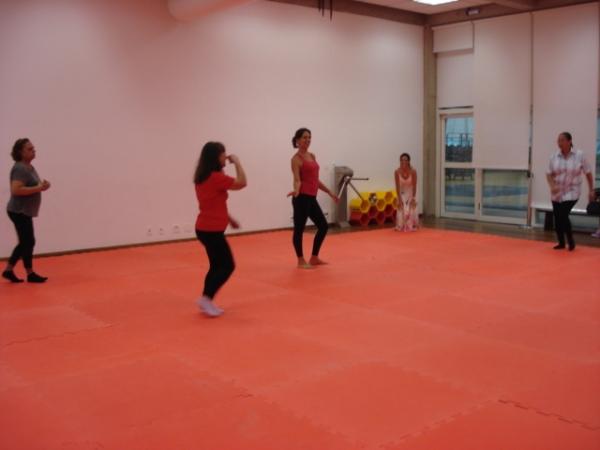 Apresentação de sequência coreográfica