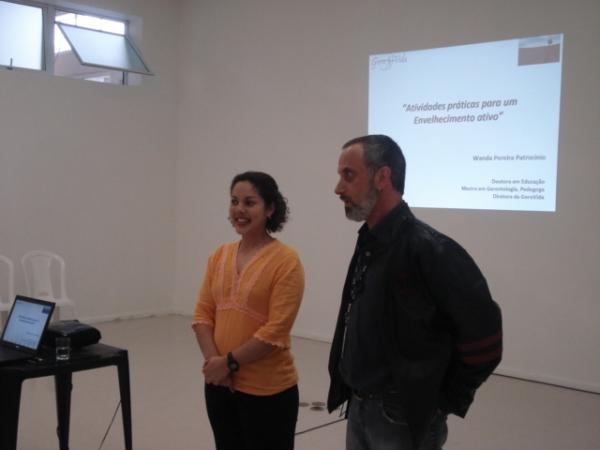 Wanda Patrocinio e Pedro Momezo (SESC)