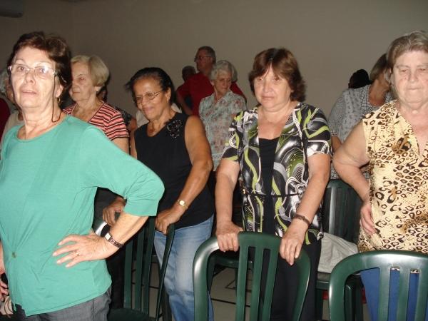 Palestra sobre prevenção de quedas na velhice